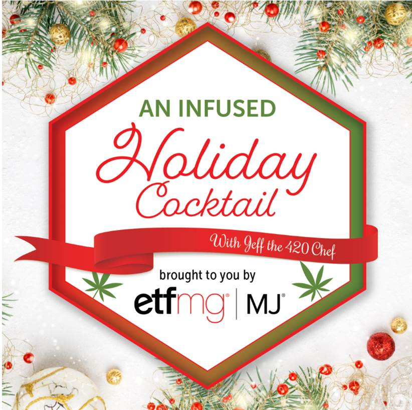 Enjoy a Canna Eggnog Over the Holidays from JeffThe420Chef and ETF Manager's Group