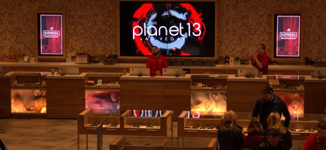 VIDEO EXCLUSIVE: Planet 13 is the world's largest cannabis superstore. It's also the best local marijuana dispensary in Las Vegas.