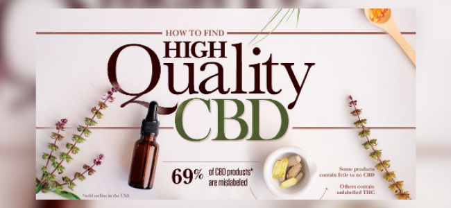 INFOGRAPHIC: How to find good quality CBD