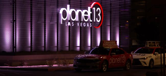 Planet 13: Riding high on the Las Vegas strip