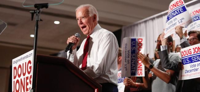 Biden campaign expresses support for decriminalizing marijuana