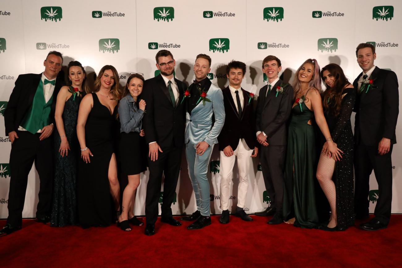 "Cannabis content creators celebrate 4/20 at TheWeedTube App launch party ""green-tie"" event"