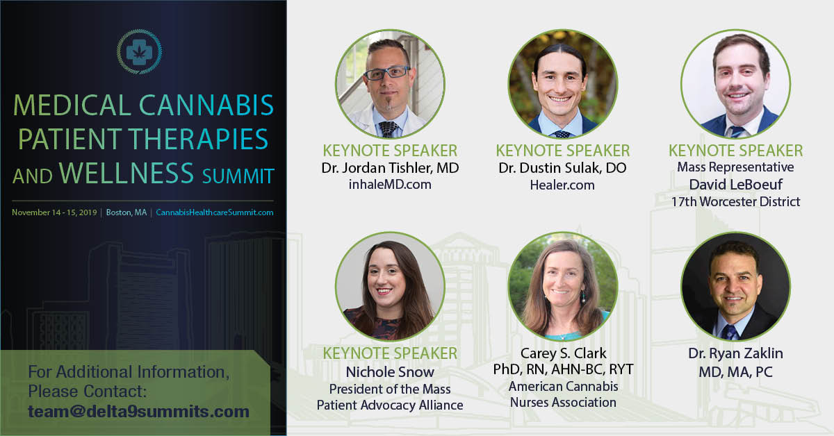 2nd Medical Cannabis Patient Therapies and Wellness Summit Nov 6-7 Worcester, Ma